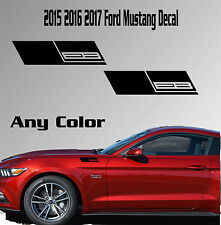 2015 2016 2017 Ford Mustang Fender Vinyl Decal Sticker Ecoboost 2.3 Turbo Car