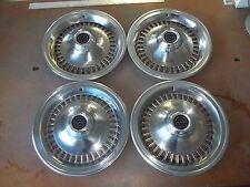 "1977 77 78 79 Ford Thunderbird Hubcap Rim Wheel Cover Hub Cap 15"" OEM USED 754 4"