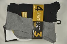 NEW MEN'S Gold Toe Work Hard Play Hard 4 Dress 3 Casual Socks SZ 10-13 #80-45576