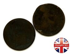 A pair of British Bronze 1863 VICTORIA PENNY Coins               (Ref:1863_70/1)