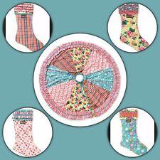 NWT Matilda Jane Christmas Memento Tree Skirt & Matching Stocking 5 Piece Set