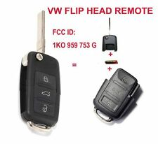 New Full Set Keyless Entry Remote Key Fob 434MHz for VW Skoda Seat 1K0 959 753 G