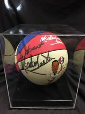 Meadowlark Lemon autographed basketball Harlem Globetrotters signed