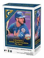 ⚾️⚾️ 2020 Topps Gallery Baseball Blaster Box - Sealed 4 Artist Proof Parallel 🔥
