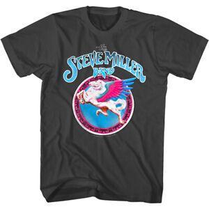 Steve Miller Band Pegasus Logo Men's T Shirt California Rock Album Concert Tour