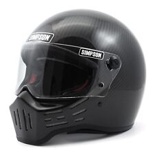 Simpson M30 Motorcycle Helmet (DOT) CARBON