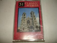 31 Classic Hymns (Cassette, 1995) Brand New, Sealed, Rare