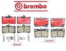 For Lexus GS350 GS430 GS450h Front+Rear Brake Pad Sets Brake Kit Brembo OEM