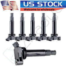 Pack of 6 Ignition Coil  fits Toyota Camry Avalon Lexus ES300 RX300 UF267