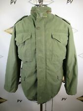 E8662 VTG US ARMY M-65 Cold Weather Field Coat Military Jacket