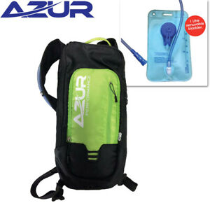 Azur Aquapak 1L Cycling Hydration Backpack - 1 Litre Removable Water Bladder