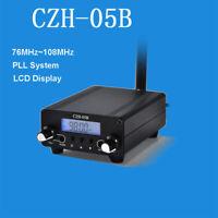 CZE-05B Stereo Digital LCD FM Transmitter Radio Broadcast Station 76MHz~108MHz