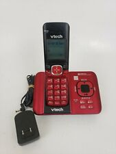 Vtech Cs6529-26 Phone Answering System Caller Id Call Waiting Red Telephones