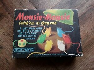 Mousie-Mousie Game, Spears. See description