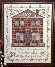 Karen Kluba Cross Stitch Pattern Booklet GOOD FOUNDATIONS Faith Spiritual Design
