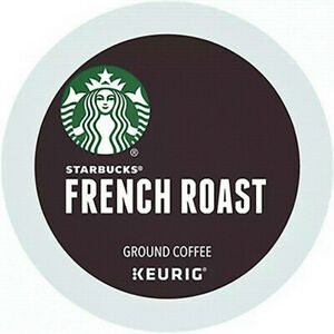 Starbucks French Dark Roast Coffee K-Cup Pods - (88 Count, Exp 04-2022)