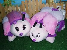 DREAM LITES BUTTERFLY & NEW PILLOW PET WITH TAGS - LOT OF TWO