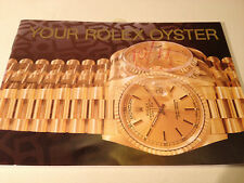 ROLEX Oyster Booklet 1991 - 2000 (choice of dates)