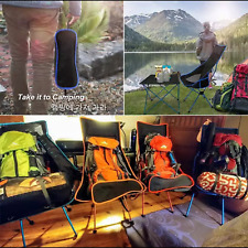 Portable Folding Chair Outdoor Bbq Home Seat Travel Fishing Stool Camping Chairs