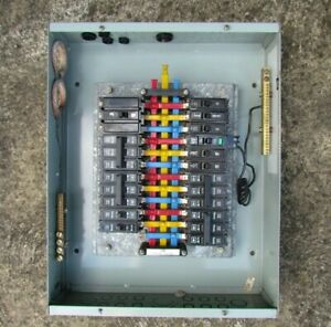 EMAIL QCC 24Pole 150 Amp 440 Volt Industrial Circuit Breaker Panel With Breakers