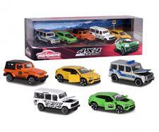 Majorette 212053169 - 4x4 SUV Set - 5 Fahrzeuge - Neu