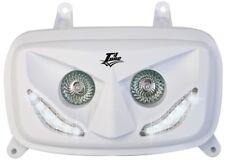 400435 Maschera faro Booster '04 led bianchi T4Tune Yamaha BW'S 50 >04 04/16