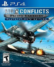 AIR CONFLICTS PACIFIC CARRIERS PS4 NEW! WWII, PEARL HARBOR, WAR, COCKPIT WARFARE
