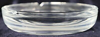 Vintage Retro Heavy Glass Ashtray Trinket Bowl Paperweight