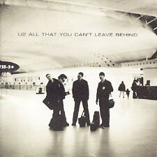 All That You Can't Leave Behind [Import Bonus Track] by U2 (CD, Oct-2000, Island