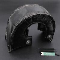 New! T3 T25 T28 GT25 GT35 Turbo Turbocharger Heat Shield Blanket Black