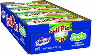 Hostess Fruit Pies, Apple, 4.5 Ounce, 8 Count (2-Boxes)