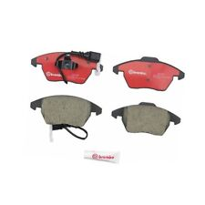 Front+Rear Brake Pad Sets Brake Kit Brembo For: Audi A3 TT Volkswagen GTI Passat