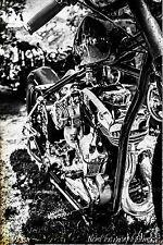 12x18 in. Poster Harley Davidson Motorcycle Vintage Garage Art Man Cave Hot Rod