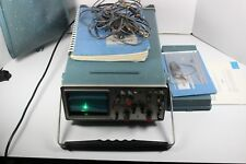 TEKTRONIX OSCILLOSCOPE model 442 W/  PROBES POWERS ON SOLD AS-IS