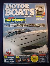 Motor Boat monthly - February 2009 - Sealine SC47 - Westwood 29 - Meridian 341
