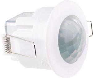 Détecteur de mouvement PIR 360° avec minuteur - Format spot - REVOLT