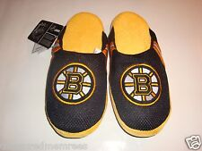 NHL Boston Bruins Team Jersey Indoor/Outdoor Slippers ~ Size XL (13-14) ~ NWT