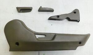 94-01 acura integra passenger side seat rail track trim cover bezel set #1