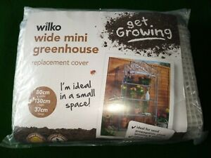 wilko wide mini greenhouse replacement pvc cover.
