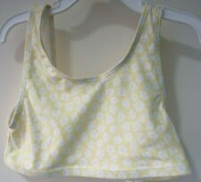 Brand New Gap Kids Mix & Match Yellow & White Floral Bathing Suit Top Size XL/12