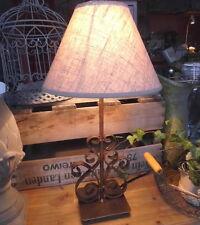 Maison de campagne Lampe table style métal 46cm haut NEUF