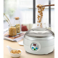 Electric Automatic Yoghurt Maker Rice Wine Natto Cuisine Container 1.5L