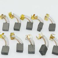 US Stock 10pcs 5mm x 10mm x 17mm Carbon Brushes Motor Brush Set Replacement #150