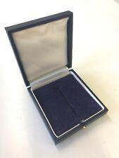 WWI WWII German/Germany Award Badge Case - Fine Quality BLUE. Etui Abzeichen
