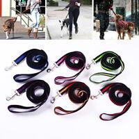 Dog Puppy Walking Leash Leash Strap Elastic Nylon Running Lead Rope Pet Supplies