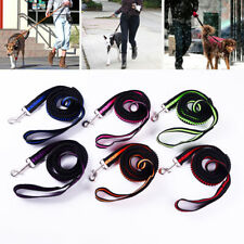 Walking Leash Dog Leash Strap Extendable Elastic Nylon Running Lead Pet Rope