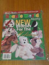 MARY BETHS BEANIE WORLD VOL 2 #3 DECEMBER 1998 US MAGAZINE =