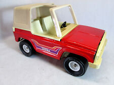 Vintage 1970 S Tonka Red Ford Bronco Barbie Gi Joe Sized Toy Truck
