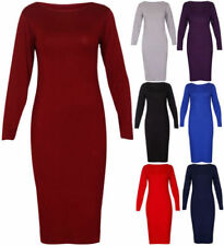 Midi Plus Size Dresses Bodycon Dress