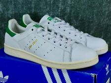 f565a049dc1 Adidas Stan Smith Mens 12 white green gold - originals og leather S75074  2015